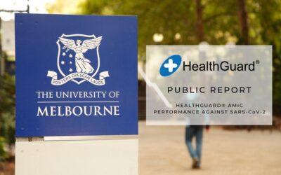 HEALTHGUARD® PETER DOHERTY INSTITUTE PUBLIC REPORT